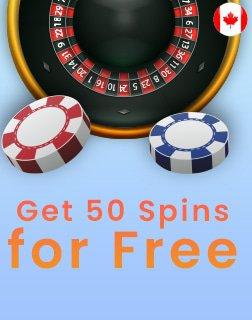 Get 50 Spins for Free cabonuscasino.com